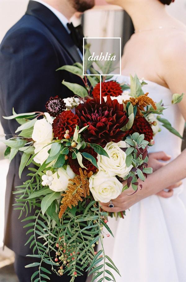 4 statement flowers to step up your bridal bouquet junebug weddings. Black Bedroom Furniture Sets. Home Design Ideas