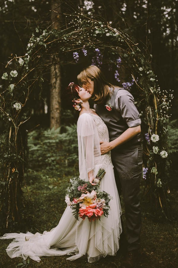 Fairy Tale Cabin Wedding in Northern Michigan