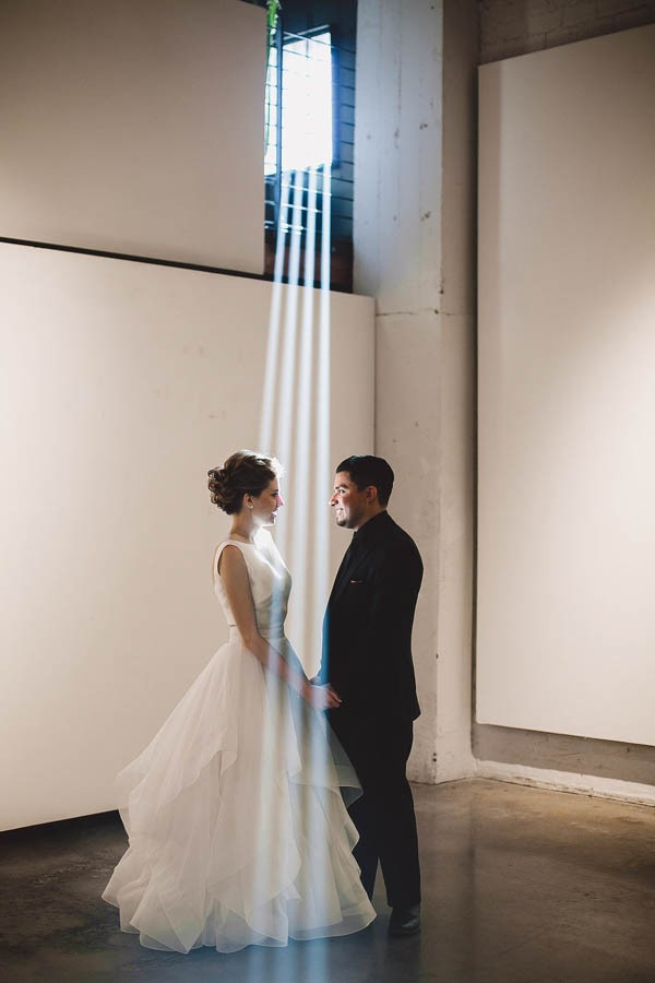 Industrial Downtown Arizona Wedding at monOrchid