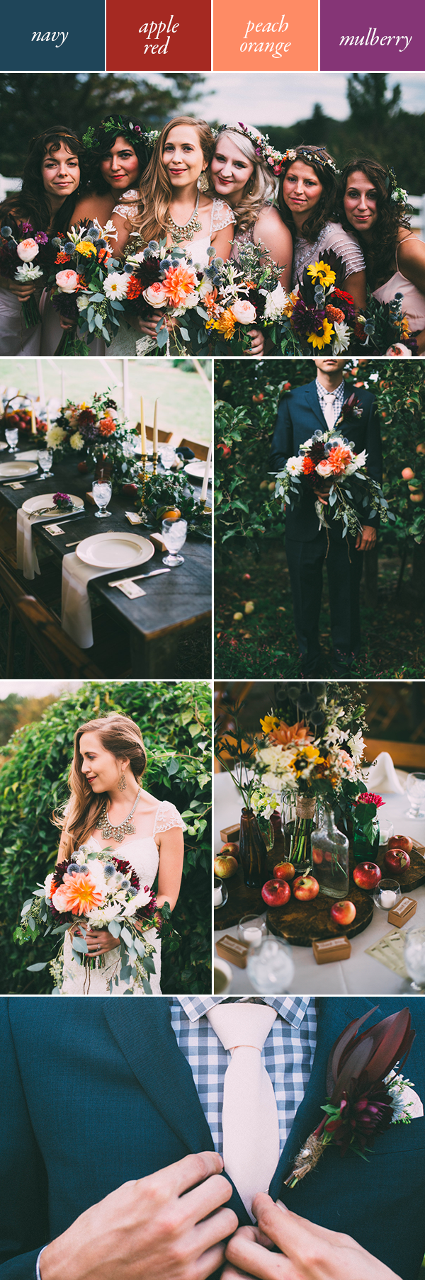 Get Inspired By These Moody Wedding Color Palettes Junebug Weddings