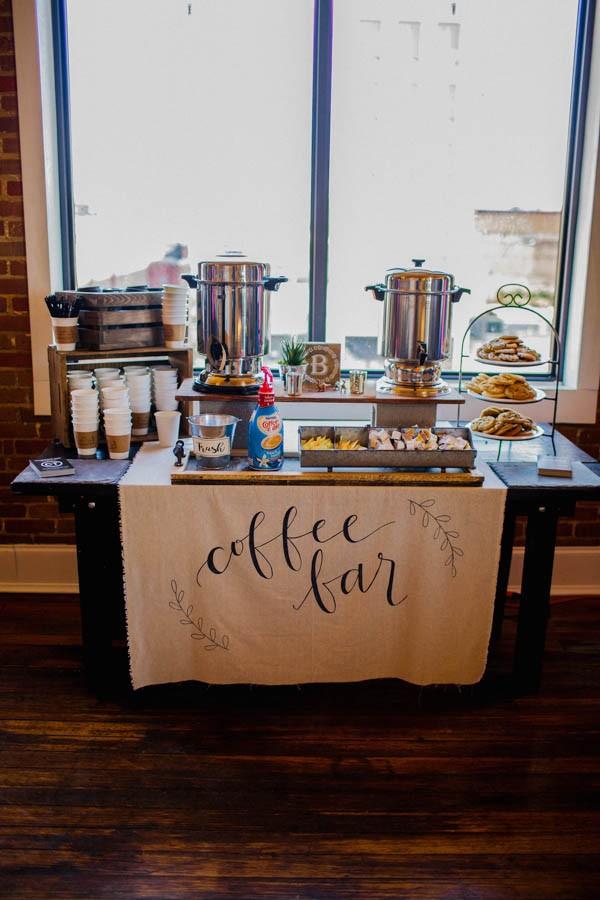 coffee bar | Weddings, Planning | Wedding Forums | WeddingWire