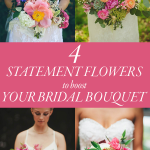 4 Statement Flowers to Step Up Your Bridal Bouquet