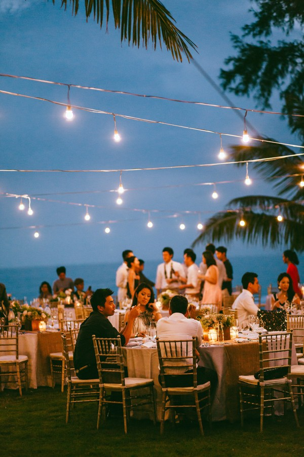 The Sunset Ceremony In This Aleenta Resort Wedding