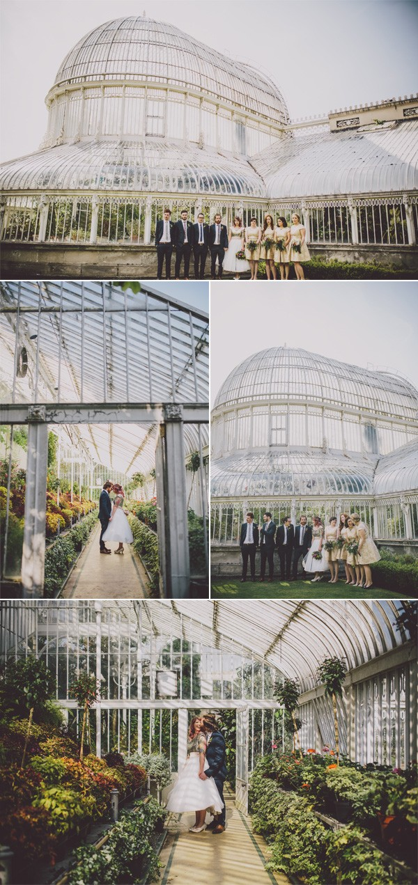 The Palm House at Botanic Gardens