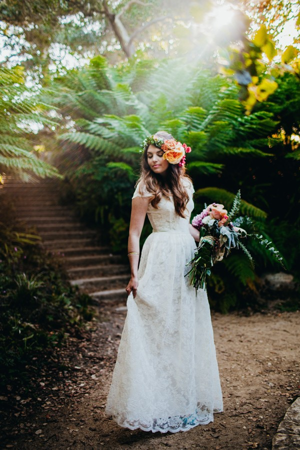 Botanical And Baby Blue San Francisco Wedding At Golden