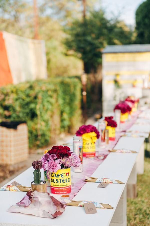 Epic And Eclectic Diy Backyard Wedding In Texas