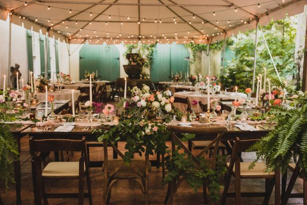 This Georgia Garden Party Wedding Is A Vintage Lovers Dream Come