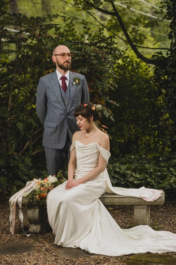 This Georgia Garden Party Wedding is a Vintage-Lover\'s Dream Come ...