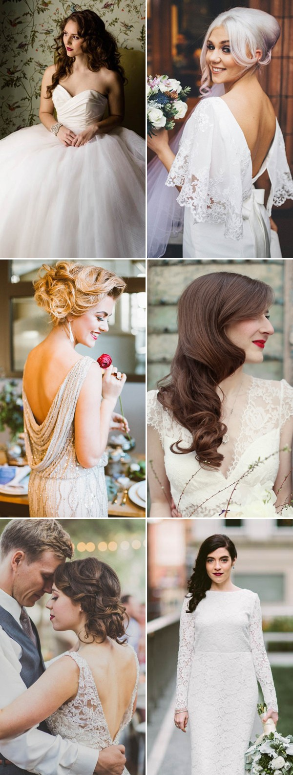 vintage bridal hair styles