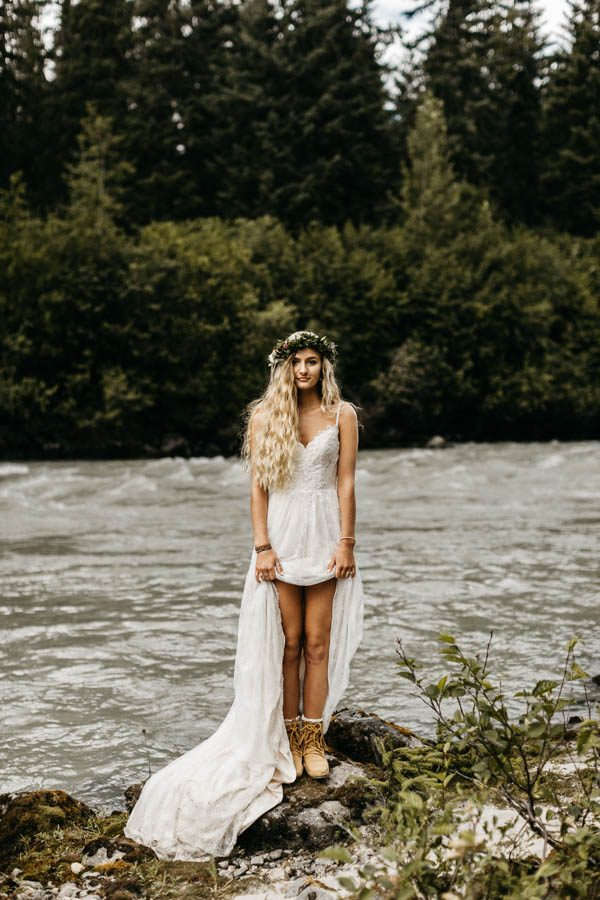 Magical Mendenhall Glacier Wedding with Waterfalls and Wildflowers Joel Allegretto-14