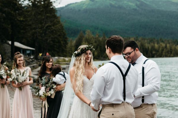 Magical Mendenhall Glacier Wedding with Waterfalls and Wildflowers Joel Allegretto-3