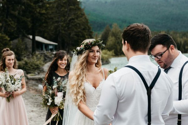 Magical Mendenhall Glacier Wedding with Waterfalls and Wildflowers Joel Allegretto-6
