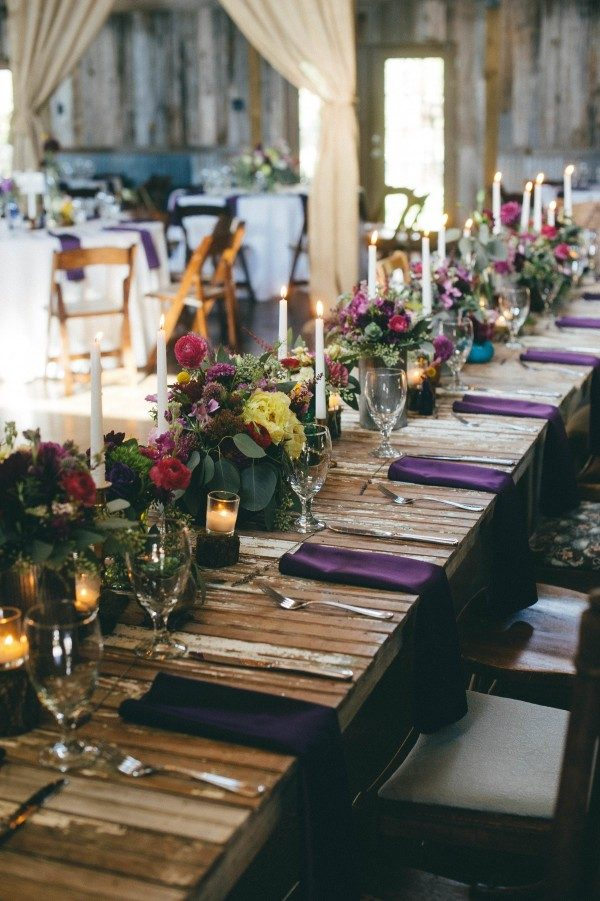 What To Put On Your Farm Table To Make Your Wedding