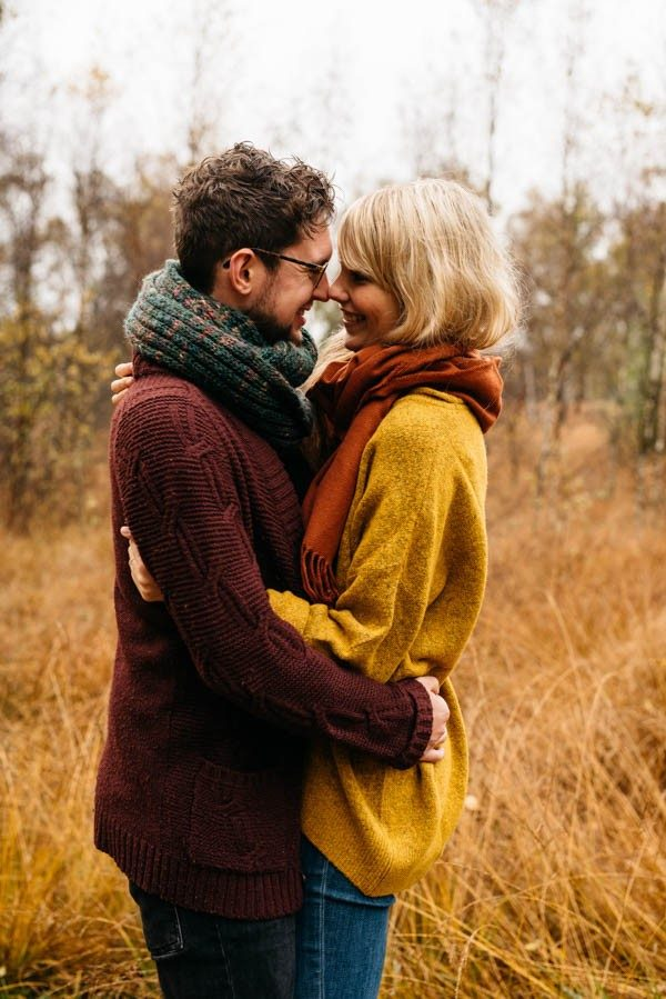 were just crazy about these fall engagement outfit ideas