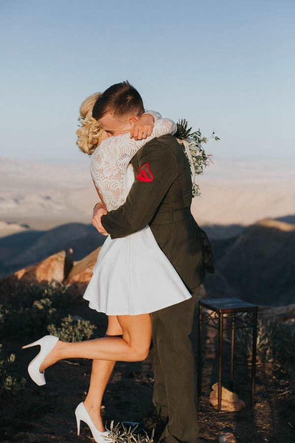 Vintage-Inspired-Bride-Marine-Corps-Groom-Said-I-Do-Along-Pacific-Crest-Trail-37-600x900