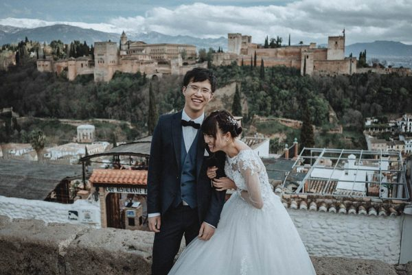 You're Not Asleep, These Spanish Wedding Portraits Are Just That Dreamy Tu Nguyen Wedding Photography-41