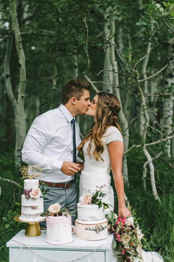 Boho Wedding Inspiration in the Lush Little Cottonwood Canyon