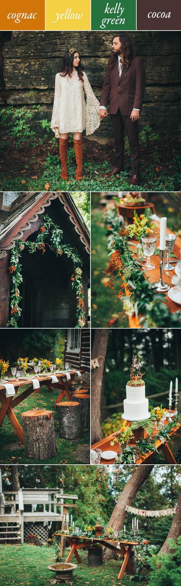 5 Gorgeous Fall Wedding Color Palettes Junebug Weddings