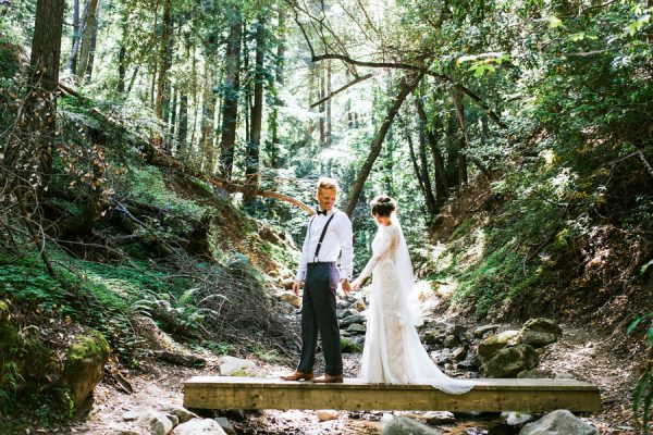 Saratoga Springs Wedding.Earthy California Forest Wedding At Saratoga Springs
