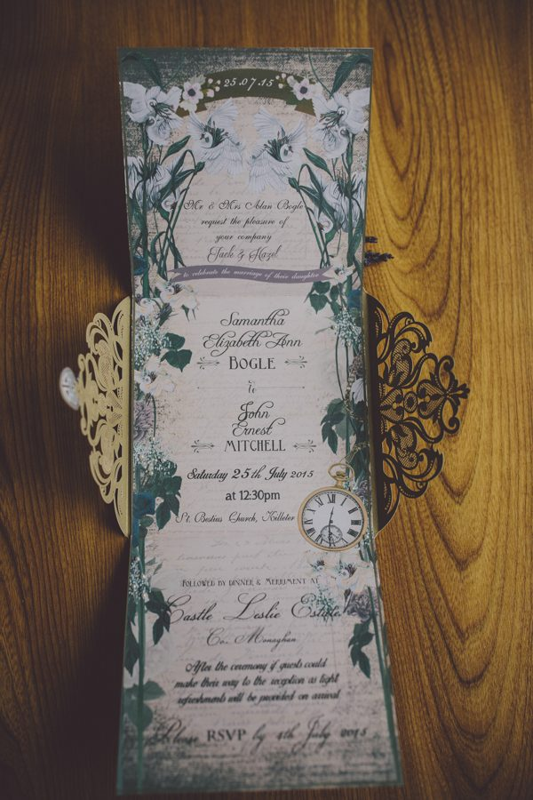 Enchanting Midsummer Irish Wedding at Castle Leslie | Junebug Weddings
