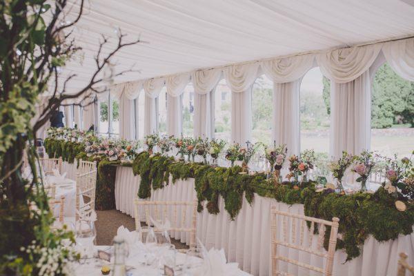 Enchanting Midsummer Irish Wedding At Castle Leslie 39