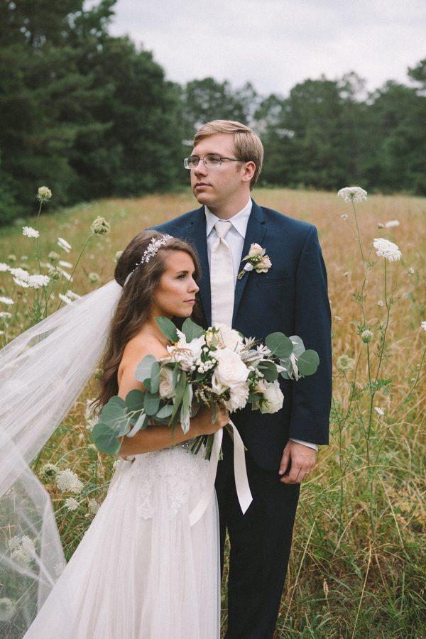 Organic and Ethereal Georgia Wedding at Sweet Meadow Farm at Beech Creek