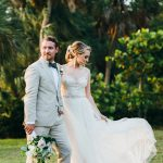Powel Crosley Estate Set the Scene for This Glitzy Florida Wedding