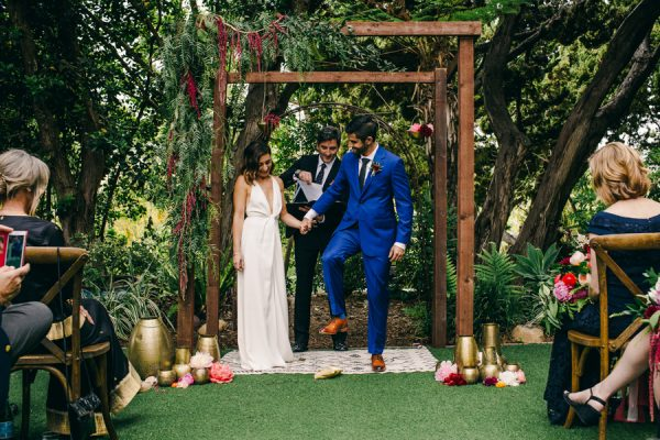Genial Stylish And Colorful California Wedding At The San Diego Botanic Gardens |  Junebug Weddings