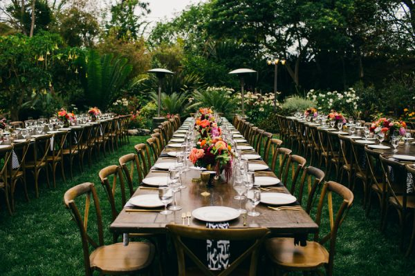 Stylish And Colorful California Wedding At The San