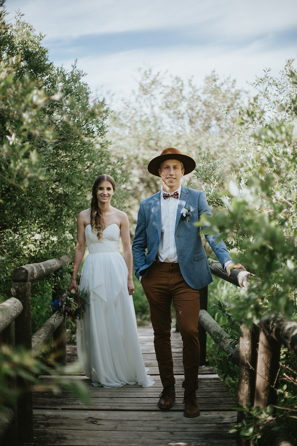 the groom style is on point in this wedding at cochrane