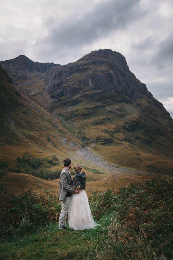 A Lovely Adventure Elopement In The Scottish Highlands Junebug