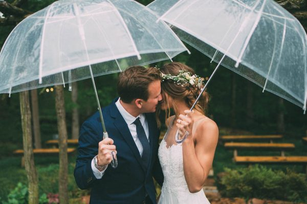 This Couple's Rainy Wedding Day at Castleton Farms is Too Pretty for Words The Image Is Found-19
