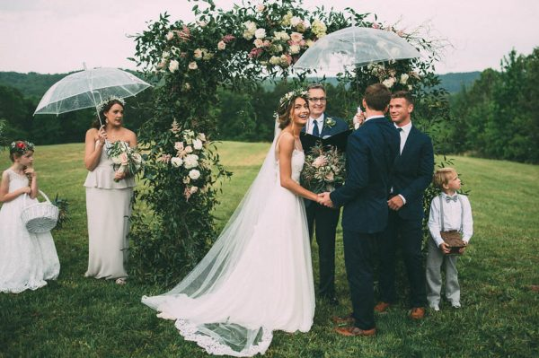 This Couple's Rainy Wedding Day at Castleton Farms is Too Pretty for Words The Image Is Found-32