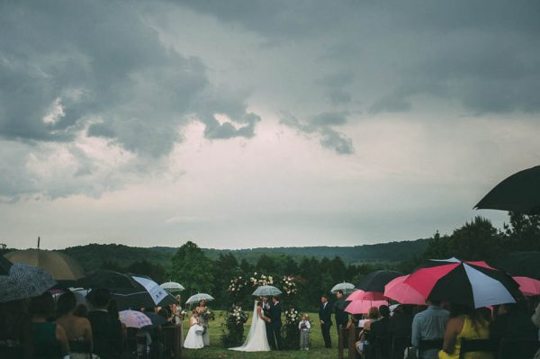 This Couple's Rainy Wedding Day at Castleton Farms is Too Pretty for Words The Image Is Found-33