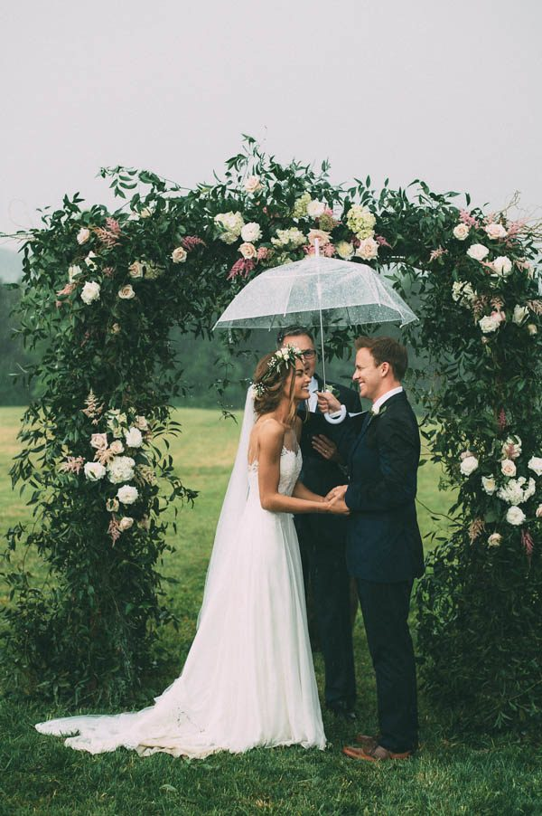 This Couple's Rainy Wedding Day at Castleton Farms is Too Pretty for Words The Image Is Found-36