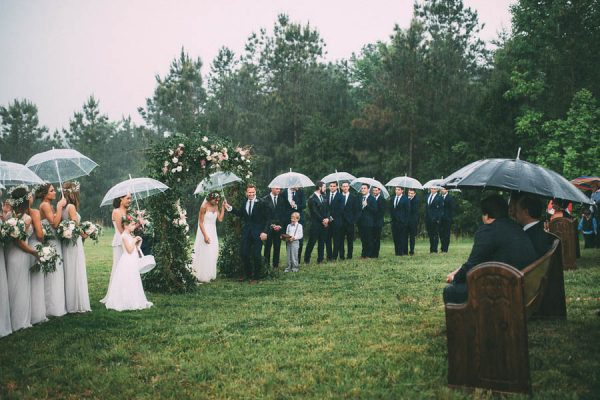 This Couple's Rainy Wedding Day at Castleton Farms is Too Pretty for Words The Image Is Found-37