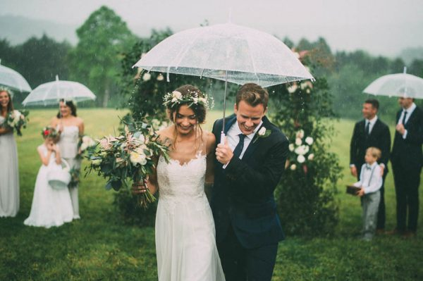 This Couple's Rainy Wedding Day at Castleton Farms is Too Pretty for Words The Image Is Found-40