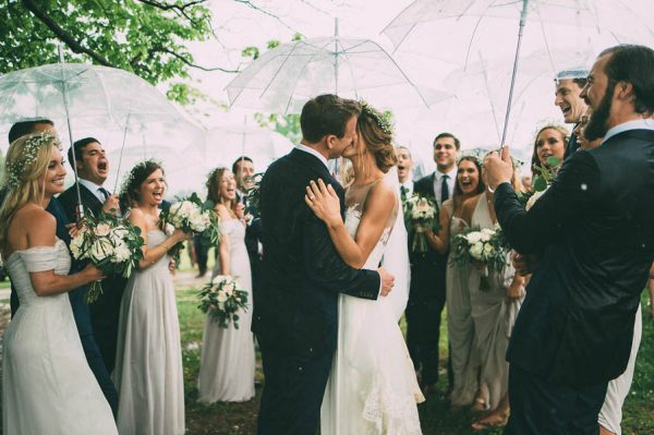This Couple's Rainy Wedding Day at Castleton Farms is Too Pretty for Words The Image Is Found-42