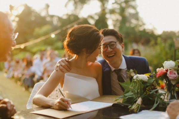 This Outdoor Singapore Wedding is Filled with Modern Elegance Ksana-19