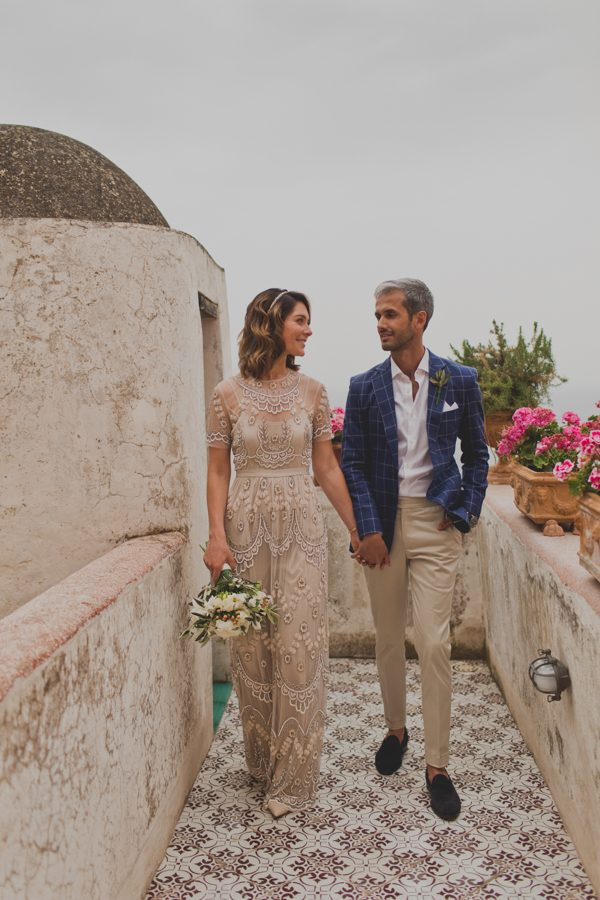 An Intimate Amalfi Coast Wedding That Doesn't Skimp on Style