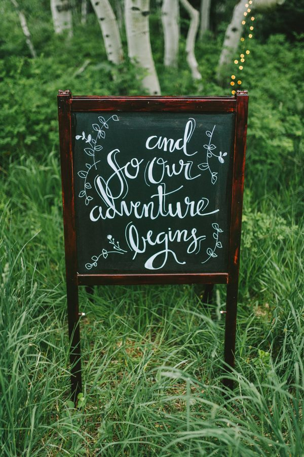Make A Statement With These 34 Creative Wedding Signage Ideas