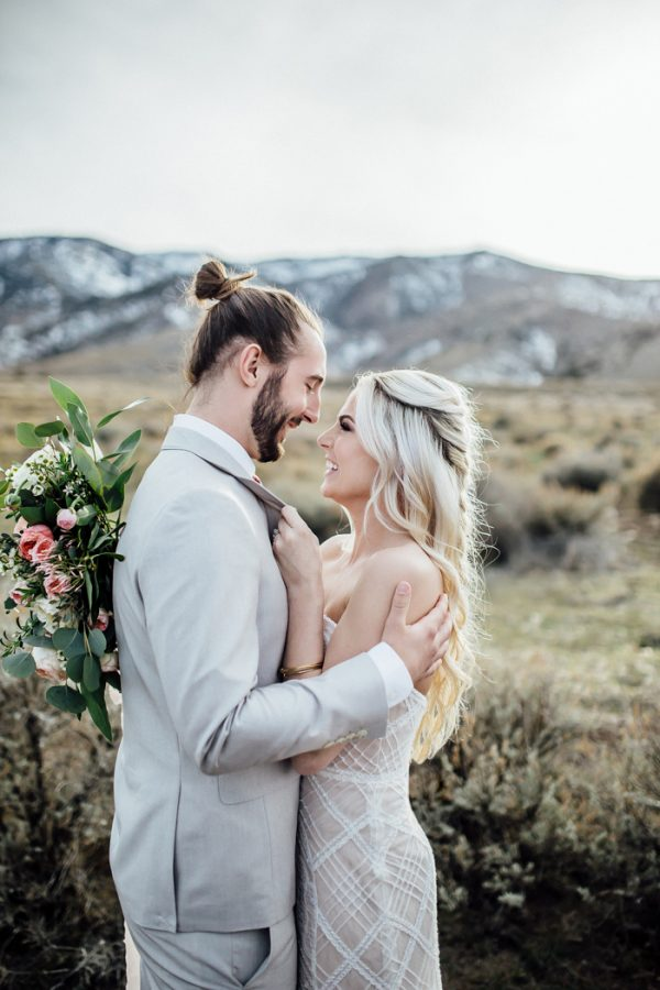Breathtaking Salt Lake City Elopement Inspiration In The Mountains Junebug Weddings
