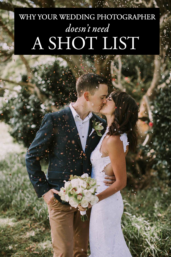 why you don39t need to give your photographer a wedding With wedding photographer needed