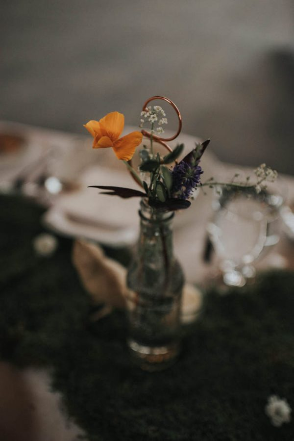 Indoor Garden Wedding At Thompsons Point In Portland