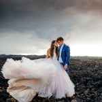 Rugged Hawaiian Wedding Photos on the Big Island