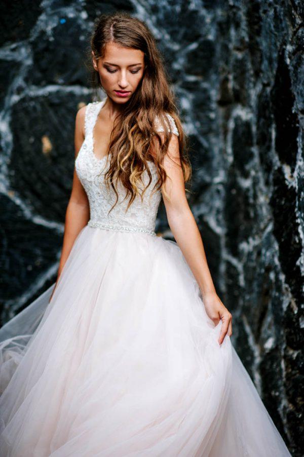 Hawaii Island Wedding Dress