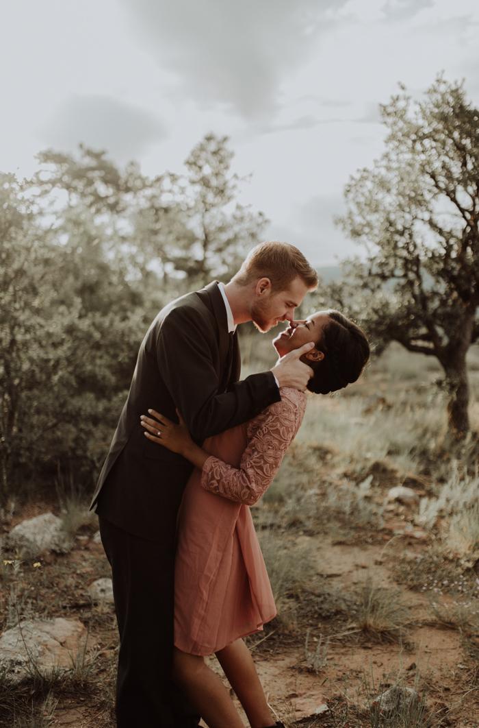 Beautifully Natural Engagement Photos In Payson Arizona