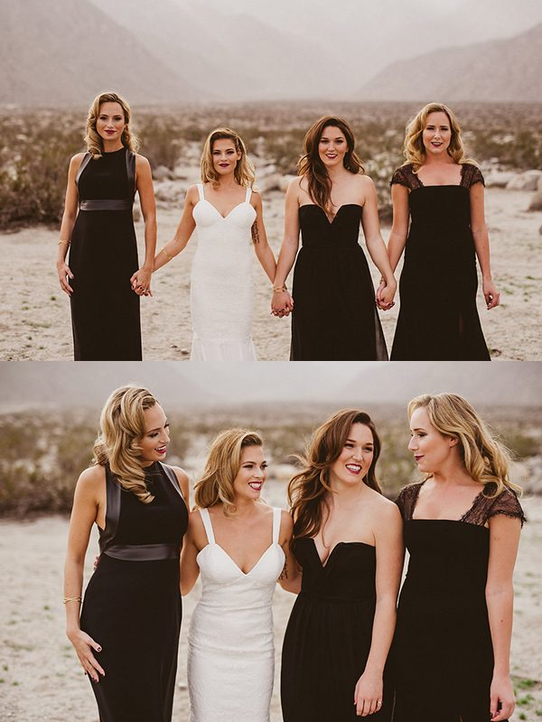 black-bridesmaids-dresses-eplove-photography