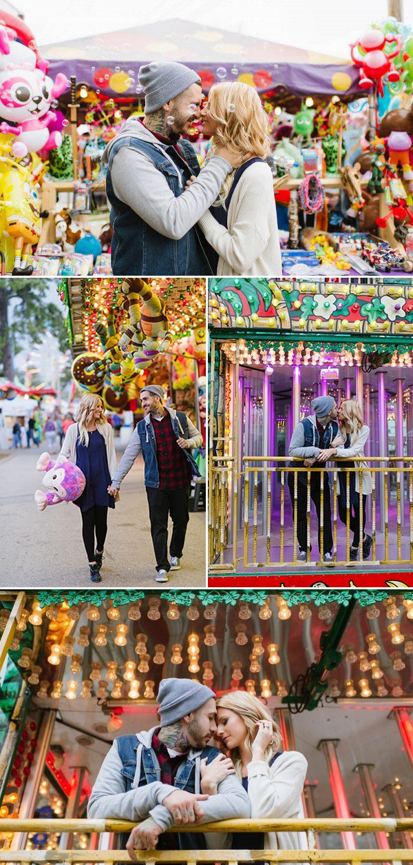 carnival-engagement-photos