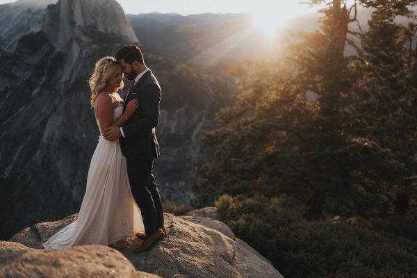 Intimate Adventure Wedding In Yosemite National Park 29